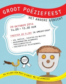 Affiche Groot Poeziefeest